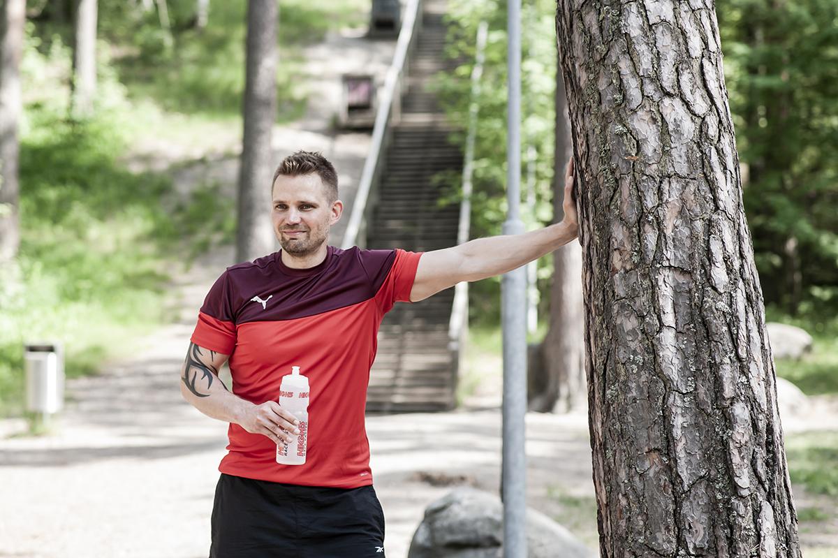 Turvallisuuspäällikkö Samuli Mäkinen